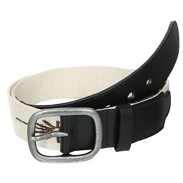 Ремень Brixton Course Belt Cream pure color automatic buckle pu mens belt