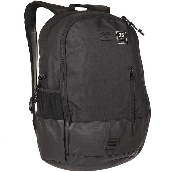 Рюкзак Billabong Command Lite Pack StealthВместительный городской рюкзак Command от Billabong станет Вашим надежным другом в путешествиях или ежедневных делах. Просторное основное отделение, удобные карманы, мягкие плечевые лямки и плотная спинка.Этот рюкзак обладает долговечностью и функциональностью. Характеристики:Просторное основное отделение. Мягкое отделение для ноутбука. Карман органайзер. Боковые карманы.Регулируемые плечевые лямки. Плотная спинка. Удобная петля для переноски.<br><br>Цвет: черный<br>Тип: Рюкзак<br>Возраст: Взрослый