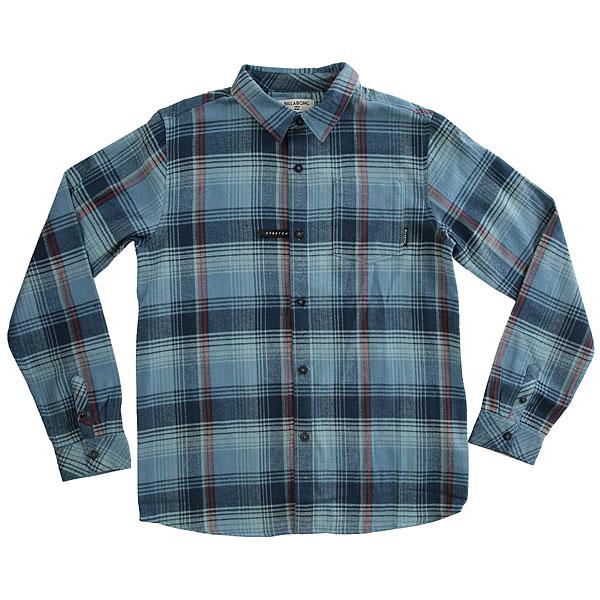Рубашка в клетку детская Billabong Coastline Flannel Ls Blue рубашка billabong lakota shirt powder blue