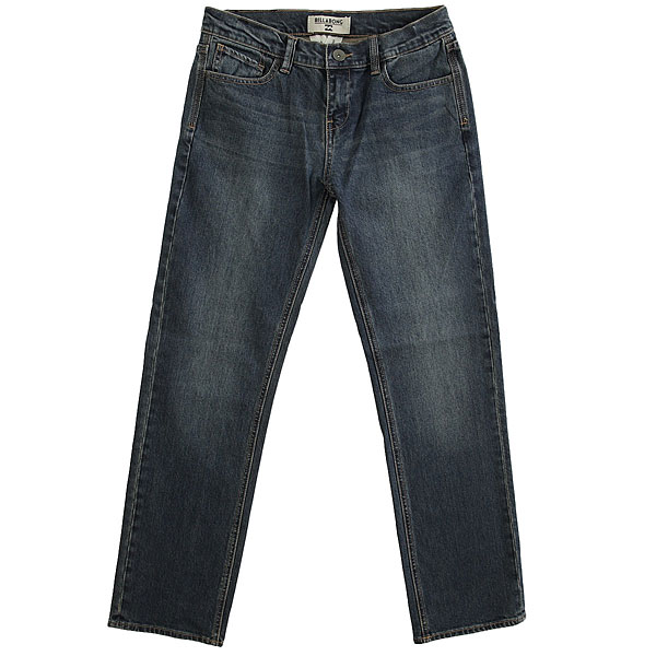 Джинсы прямые детские Billabong Fifty Jean Boy Indigo Deep Sea
