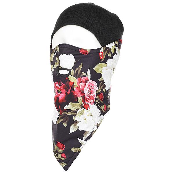 Маска женская Airhole 2 Layer Flowers<br><br>Цвет: мультиколор,черный<br>Тип: Маска<br>Возраст: Взрослый<br>Пол: Женский