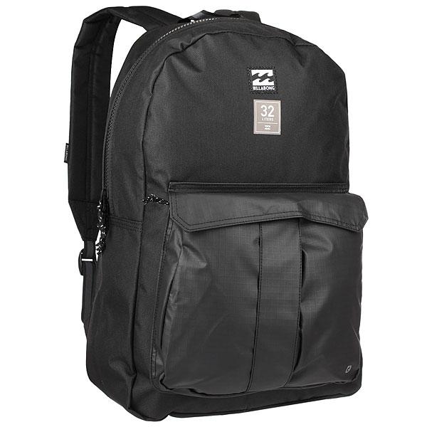 Рюкзак городской Billabong Traveler Pack 32 L StealthВозьмите рюкзак Billabong Traveler в город, на природу или в поездку, он будет служить надёжным помощником во всех Ваших приключениях. Минималистичный дизайн, а внутри предусмотрен специальный карман для ноутбука.Характеристики:Вместительный основной отсек.Мягкий отсек для ноутбука. Внешний карман. Ручка для переноски.Мягкие регулируемые лямки.<br><br>Цвет: черный<br>Тип: Рюкзак городской<br>Возраст: Взрослый