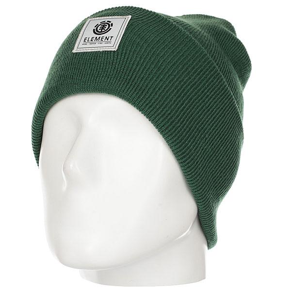 Шапка Element Dusk Beanie Sequoia Grass Green<br><br>Цвет: зеленый<br>Тип: Шапка<br>Возраст: Взрослый<br>Пол: Мужской