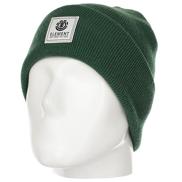 Шапка Element Dusk Beanie Sequoia Green<br><br>Цвет: зеленый<br>Тип: Шапка<br>Возраст: Взрослый<br>Пол: Мужской