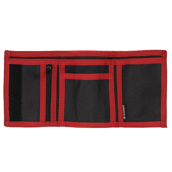 Кошелек Element Elemental Wallet Black/Red