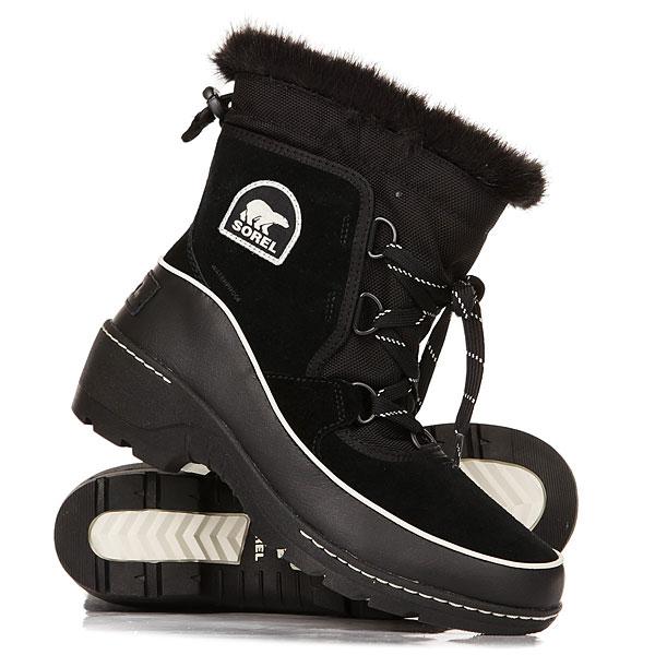 Ботинки зимние женские Sorel Tivoli Black Light Bisque