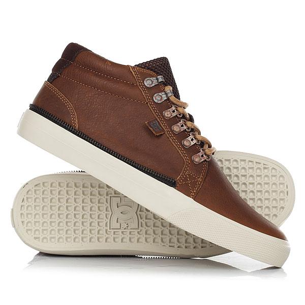 Кеды кроссовки высокие DC Shoes Council Mid Lx Worn Vintage кеды кроссовки низкие dc council tx le brown blue