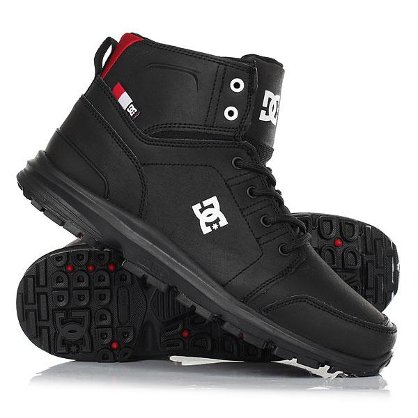 Ботинки высокие DC Shoes Torstein Black/Athletic Red/WПлавный, четкий и узнаваемый стиль - Torstein Horgmo катается так, что на это можно смотреть как на текущую воду - бесконечно. Как и многие другие атлеты его уровня, он удостоился от титульного спонсора именной модели обуви, и она перед Вами. Надежные и удобные ботинки отлично справятся с осенней слякотью, так что если Вы были в поиске подходящей обуви для межсезонья - это она и есть. Надежная подошва, прочный водонепроницаемый верх, классическая шнуровка - в них определенно есть все то, что Вам может понадобиться. Характеристики:Про-модель Torstein Horgmo.Кожаный верх. Фактурный трафаретный принт с логотипом. Классическая шнуровка. Металлические люверсы. Спортивная подошва UniLite™.Хорошее сцепление за счет рисунка протектора. Тканая этикетка с логотипом Фактурный трафаретный принт с логотипом на язычке. Петля на пятке для удобства надевания.<br><br>Цвет: черный<br>Тип: Ботинки высокие<br>Возраст: Взрослый<br>Пол: Мужской