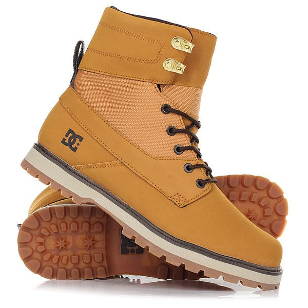 Ботинки высокие DC Shoes Uncas Wheat/Black/Dk Choco крючки общего назначения