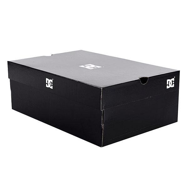 Кеды кроссовки зимние женские DC Shoes Evan Hi Wnt Black/White/Black