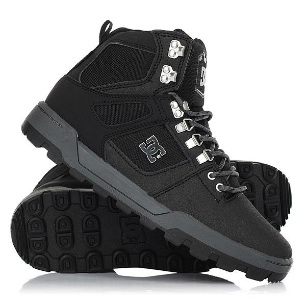Ботинки высокие DC Shoes Spartan High Wr Black/Black/Dk Grey крючки общего назначения