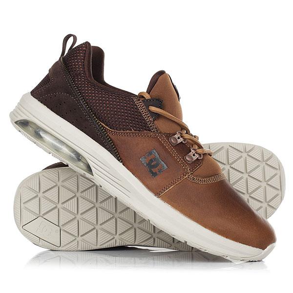 Кроссовки DC Shoes Heathrow Ia Lx Brown/Dk Chocolate dc shoes кеды dc heathrow 8