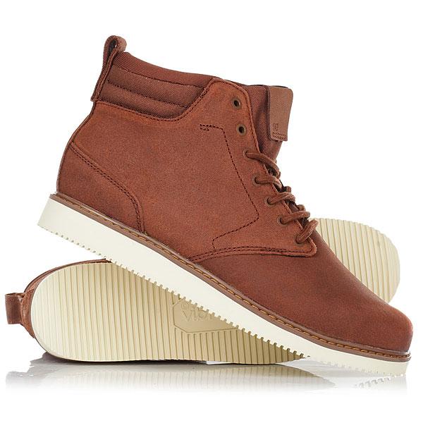 Ботинки высокие DC Shoes Mason Brn BrownЛегкие, стильные и удобные - эти ботинки DC Mason помогут Вам пережить осень максимально комфортно. Цепкая подошва Vibram, верх из прочной кожи с водоотталкивающей пропиткой, подкладка «премиум» и стелька OrthoLite® - как видите, в них собрано все самое лучшее, чтобы Вам не нужно было отвлекаться на изменчивую погоду. Характеристики:Верх из прочной кожи с водоотталкивающей пропиткой. Подкладка «премиум». Стелька OrthoLite®.Прочная и легкая подошва Vibram.<br><br>Цвет: коричневый<br>Тип: Ботинки высокие<br>Возраст: Взрослый<br>Пол: Мужской