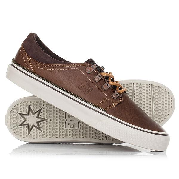 Кеды кроссовки низкие DC Shoes Trase Lx Worn Vintage кеды кроссовки низкие dc wes kremer tan brown