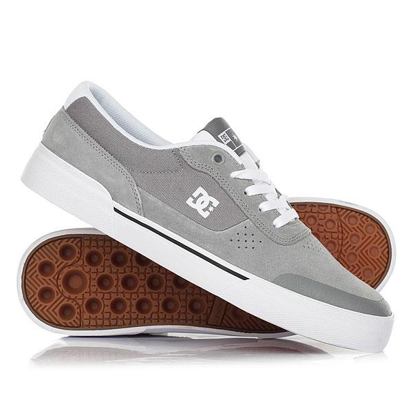 Купить со скидкой Кеды кроссовки низкие DC Shoes Switch Plus S Grey/White