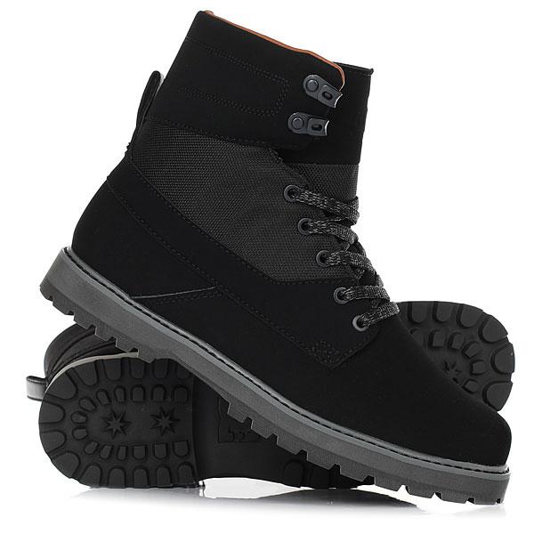 Ботинки высокие DC Shoes Uncas Black/Black/Dk Grey крючки общего назначения