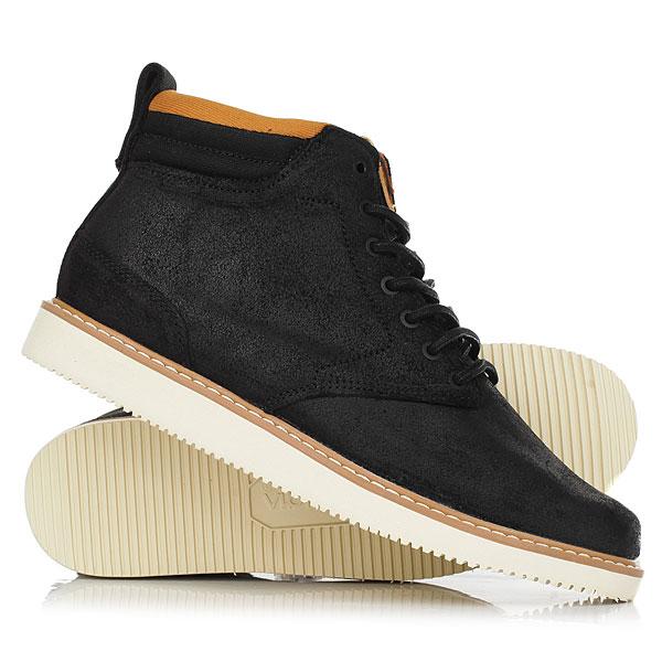 Ботинки высокие DC Shoes Mason BlackЛегкие, стильные и удобные - эти ботинки DC Mason помогут Вам пережить осень максимально комфортно. Цепкая подошва Vibram, верх из прочной кожи с водоотталкивающей пропиткой, подкладка «премиум» и стелька OrthoLite® - как видите, в них собрано все самое лучшее, чтобы Вам не нужно было отвлекаться на изменчивую погоду. Характеристики:Верх из прочной кожи с водоотталкивающей пропиткой. Подкладка «премиум». Стелька OrthoLite®.Прочная и легкая подошва Vibram.<br><br>Цвет: черный<br>Тип: Ботинки высокие<br>Возраст: Взрослый<br>Пол: Мужской