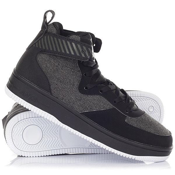 Кеды кроссовки высокие Anta 81741270-3 Black