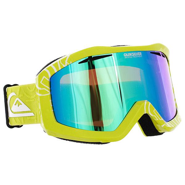 Маска для сноуборда Quiksilver Fenom Pack Sulphur Spring<br><br>Цвет: Светло-зеленый<br>Тип: Маска для сноуборда<br>Возраст: Взрослый<br>Пол: Мужской