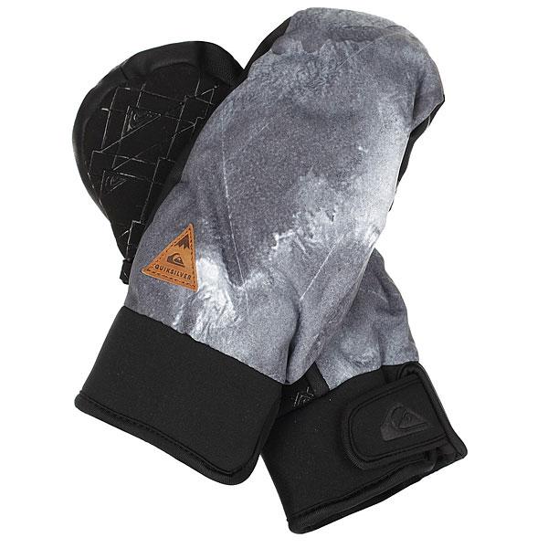 Варежки сноубордические Quiksilver Method Electric EventУтепленные сноубордические перчатки Quiksilver Method эргономичной изогнутой формы. Короткий регулируемый манжетиз неопрена,ладонь с силиконовым покрытием, вставки из мембранного материала DryFlight®, утеплитель Warmflight® - гарантия надежной защиты от холода, ветра и влаги. Характеристики:Водостойкая и дышащая ткань. Водонепроницаемые вставки DryFlight®.Утеплитель Warmflight® 110 г.Эргономичный изогнутый крой с неопреновым манжетом. Регулируемый манжет на липучке. Эластичный лиш. Силиконовый принт на ладони для лучшего сцепления.Совместимы с тачскринами.<br><br>Цвет: черный,серый<br>Тип: Варежки сноубордические<br>Возраст: Взрослый<br>Пол: Мужской