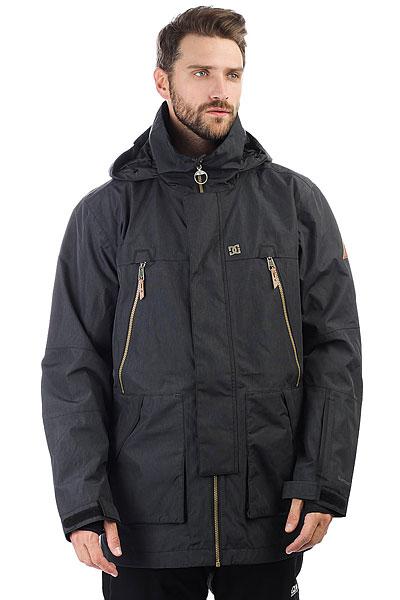 Куртка утепленная DC Shoes Command BlackПеред Вами самая технологичная сноубордическая куртка от DC, предназначенная для катания при любых условиях. Новая мембрана30K Sympatex® обеспечит сухостьдаже в самую ненастную погоду, проклеенные швы исключат промокание, а подкладка из тафты будет сохранять тепло на протяжении всего дня. Разумеется, фирменная особенность курток DC осталась на месте, специальный карман на рукаве для ски-пасса, чтобы Вы могли им пользоваться не снимая перчаток.Характеристики:Мембрана 30K DC WEATHER DEFENSE Sympatex®.Классический крой. Подкладка из тафты.Полностью проклеенные швы. Вентиляционные сетчатые карманы подмышками. Съемная снегозащитная юбка. Регулируемый в двух направлениях капюшон. Высокий ворот. Регулируемый капюшон. Возможность крепления куртки к штанам. Внутренние манжеты из лайкры. Манжеты на липучках.Удлинённая задняя часть. Утеплённые карманы для рук. Медиа-карман.Два нагрудных кармана на молниях. Карман для ски-пасса на рукаве.Внутренний сетчатый карман для маски. Влагостойкие молнии YKK® Aquaguard®.<br><br>Цвет: черный<br>Тип: Куртка утепленная<br>Возраст: Взрослый<br>Пол: Мужской