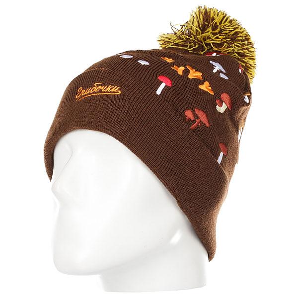Шапка Запорожец Gribochki Brown<br><br>Цвет: коричневый<br>Тип: Шапка<br>Возраст: Взрослый<br>Пол: Мужской