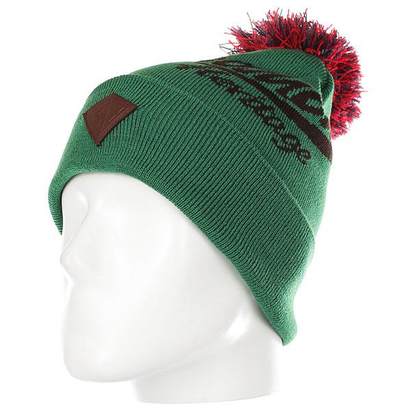 Шапка Запорожец Classic Logo Green/Brown<br><br>Цвет: зеленый<br>Тип: Шапка<br>Возраст: Взрослый<br>Пол: Мужской