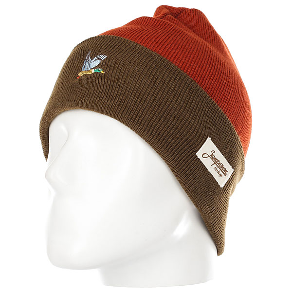 Шапка Запорожец Ditch Brown/Dark Brown шапка запорожец zap classic logo sky brown yellow