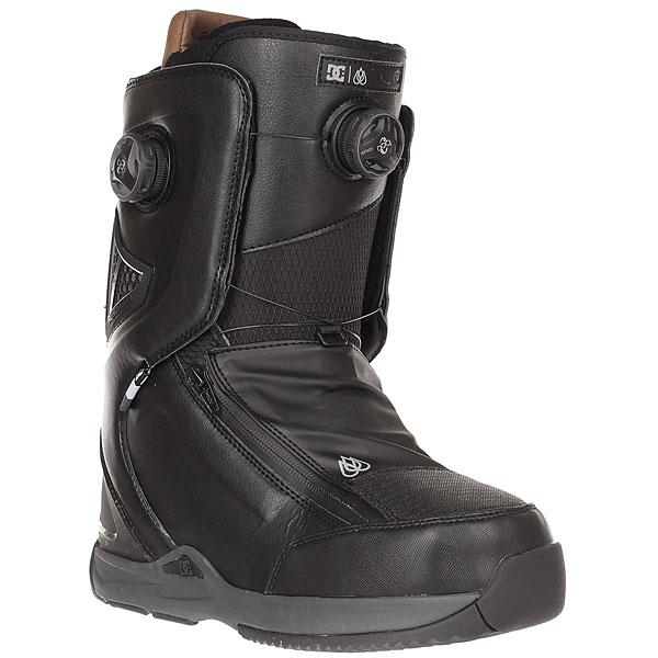 Ботинки для сноуборда DC Shoes Travis Rice Black/Red<br><br>Цвет: черный<br>Тип: Ботинки для сноуборда<br>Возраст: Взрослый<br>Пол: Мужской