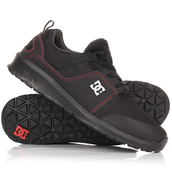 Кроссовки DC Shoes Heathrow Presti Black/Red/Grey dc shoes кеды dc heathrow 8