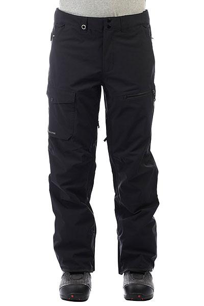 Штаны сноубордические Quiksilver Util Stretch BlackФункциональные современные штаны для катания должны обладать хорошей мембранной тканью, продуманным кроем, необходимыми карманами и вентиляцией с сетчатыми вставками. Мужские штаныUtility Stretch как раз такие. Водостойкая мембранная ткань 20K Quiksilver DryFlight®, подкладка из тафты и трикотажа с начесом,держатель для ски-пасса,тройная система застегивания и водонепроницаемые молнии YKK® Aquaguard®. И это лишь малая часть того, что еще скрывается в этих штанах. Современный крой позволит Вам всегда оставаться на стиле.Характеристики:Мембрана:водостойкая 20K Quiksilver DryFlight®.Материал:прочный нейлон пигментного окрашивания.Современный крой (modern). Подкладка из тафты и трикотажа с начесом + мягкая вставка из трикотажа с начесом с изнанки пояса. Полностью проклеенные швы.Держатель для ски-пасса. Пояс на утяжке для регулировки размера. Два кармана для рук. Накладной карго-карман на правой штанине. Внутренний карман на молнии на левой штанине. Тройная система застегивания. Водонепроницаемые молнии YKK® Aquaguard®.Вентиляционные прорези на сеточной подкладке. Уплотненные края штанин. Снегозащитные гетры. Система утяжки края штанин для защиты их от преждевременного износа.<br><br>Цвет: черный<br>Тип: Штаны сноубордические<br>Возраст: Взрослый<br>Пол: Мужской