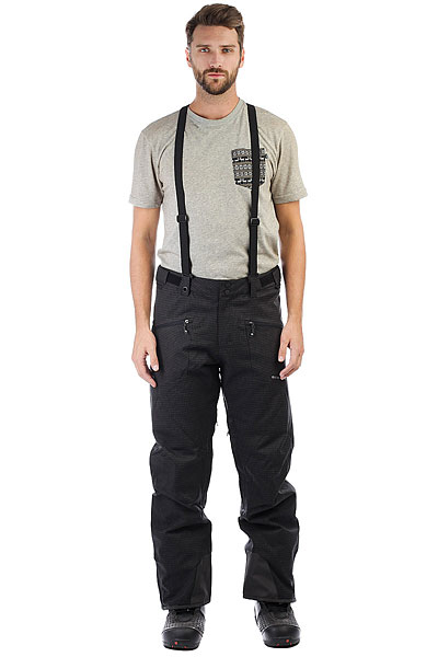 Штаны сноубордические Quiksilver Boundry Pl BlackУдобные современные штаны для катания должны обладать хорошей мембранной тканью, продуманным кроем, необходимыми карманами и вентиляцией с сетчатыми вставками. И эти Quiksilver Boundry именно такие. А еще у них есть высокая юбка для защиты от снега, пояс с регулировкой размера, тройная система застегивания и проклеенные швы. Да, это детская модель, но все ее характеристики - вполне взрослые.Характеристики:Стандартный крой. Мембрана: водостойкая 10K Quiksilver DryFlight®.Материал: синтетический оксфорд. Проклеенные в стратегических местах швы. Подкладка: тафта + мягкая вставка из трикотажа с начесом с изнанки пояса. Вентиляция с сетчатыми вставками. Юбка для защиты от снега.Система пристегивания штанов к куртке. Пояс на утяжке для регулировки размера. Тройная система застегивания. Два кармана для рук с доступом на молнии.Держатель для ски-паса. Снегозащитные гетры.<br><br>Цвет: черный,серый<br>Тип: Штаны сноубордические<br>Возраст: Взрослый<br>Пол: Мужской