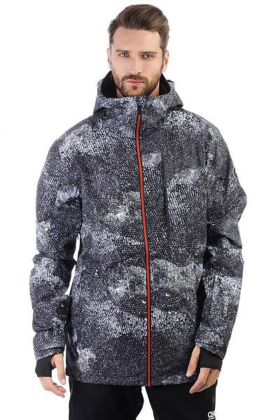 Куртка утепленная Quiksilver Tr Forever Marine IguanaЛаконичный дизайн этой куртки продиктован в первую очередь серьезным настроем на максимальную производительность и использованием высокотехнологичных тканей, например, мембраны GORE-TEX® 2L, которая обеспечит не только сухость, но и отличные дышащие свойства, позволяя тем самым оставаться в тепле и комфорте после длительных физических нагрузок. Куртка снабжена самым необходимым на склоне набором функций: снегозащитной юбкой и регулируемыми на липучке манжетами, предотвращающими попадание снега под одежду, а также продуманными карманами для того, чтобы всегда иметь под рукой необходимые вещи. Характеристики:Прямой крой, обеспечивающий свободу движений. Мембранная влагостойкаядышащая двухслойная тканьGORE-TEX® 2L. Без утеплителя. Подкладкаиз тафты с трикотажными вставками.Полностью проклеенные швы. Вентиляция подмышками. Внешний нагрудный карман на молнии. Внутренний сетчатый карман для маски. Внутренний медиа-карман на молнии. Система крепления куртки к штанам. Карман для ски-пасса на рукаве на молнии. Регулируемый в двух направлениях капюшон. Ткань для протирки маски в кармане для рук. Регулируемые на липучке манжеты. Съемная снегозащитная юбка с эластичной вставкой из лайкры. Утягивающийся подол. Два кармана для рук.Карабин для ключа. Влагостойкие молнииYKK® Aquaguard®.<br><br>Цвет: черный,серый<br>Тип: Куртка утепленная<br>Возраст: Взрослый<br>Пол: Мужской