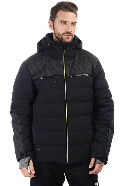 Куртка утепленная Quiksilver The Edge Black витражные панели
