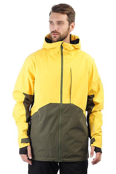 Куртка утепленная Quiksilver Forever Gore Solar PowerТехнологичная куртка Forever 2L GORE-TEX® входит в премиум линейку Highline от Quiksilver. Сверхпрочная, водонепроницаемая, ветрозащитная и отлично дышащая куртка для самых сложных погодных условий в горах.Используется двухслойной материал с мембраной GORE-TEX®. Полностью проклеенные швы, снегозащитная юбка, функциональные карманы, влагонепроницаемая молния YKK® Aquaguard®, свободный силуэт и вентиляционные вставки для ощущения комфортав продолжительных бэккантри турах.Характеристики:Коллекция Highline. Свободный крой.Регулируемый капюшонудобен при использовании шлема. Мембранная влагостойкаядышащая двухслойная тканьGORE-TEX® 2L. Влагостойкая молнииYKK® Aquaguard®.Без утеплителя. Подкладкаиз тафты с трикотажными вставками и начесом, жаккардовая сетка. Полностью проклеенные швы. Вентиляционные сетчатые вставки в проймах рукавов. Карабин для ключей. Медикарман, карман для ски-пасс.Внутренний карман с фланелью для маски. Система крепления куртки к штанам.Снегозащитная юбка, не отстегивается. Эластичные манжеты с вставкой из лайкры. Надпись Higline на плече. Фирменный логотип.<br><br>Цвет: желтый,зеленый<br>Тип: Куртка утепленная<br>Возраст: Взрослый<br>Пол: Мужской