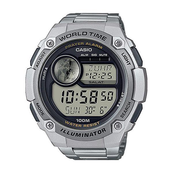 Кварцевые часы Casio Collection cpa-100d-1aНаручные часы с оптимальными характеристиками созданы для молодых людей, которые предпочитают более сдержанные, но не менее функциональные модели.Технические характеристики: Светодиодная подсветка.Функция мирового времени.Функция секундомера- 1/100 сек. - 24 часа.Таймер - 1/1 сек. - 24 часа.5 ежедневных будильников.Включение/выключение звука кнопок.Автоматический календарь.12/24-часовое отображение времени.Корпус из полимерного пластика.Браслет из нержавеющей стали.Предохранительная защелка.Срок службы аккумулятора - 7 лет.<br><br>Цвет: Светло-серый<br>Тип: Кварцевые часы<br>Возраст: Взрослый<br>Пол: Мужской