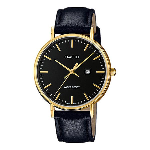 Кварцевые часы Casio Collection lth-1060gl-1aКлассические наручные часы в корпусе из нержавеющей стали с кожаным ремешком.Технические характеристики: Дисплей с датой.Минеральное стекло.Прочный корпус из нержавеющей стали.Ремешок из натуральной кожи.Срок службы аккумулятора - 3 года.Водонепроницаемость в соответствии с DIN 8310 т.е. ISO 2281. Модель устойчива к мелким брызгам, любые контакты с большим количеством воды следует избегать.<br><br>Цвет: черный<br>Тип: Кварцевые часы<br>Возраст: Взрослый<br>Пол: Мужской
