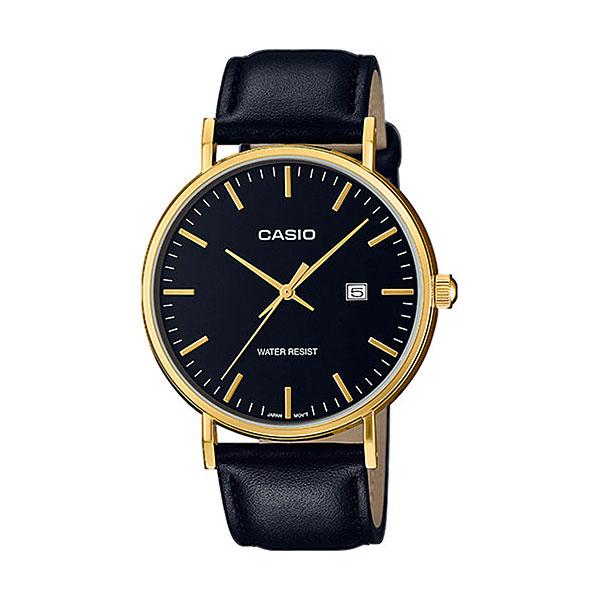 Кварцевые часы Casio Collection mth-1060gl-1aКлассические наручные часы в корпусе из нержавеющей стали с кожаным ремешком.Технические характеристики: Дисплей с датой.Минеральное стекло.Сферическое стекло.Прочный корпус из нержавеющей стали.Ремешок из натуральной кожи.Срок службы аккумулятора - 3 года.Водонепроницаемость в соответствии с DIN 8310 т.е. ISO 2281. Модель устойчива к мелким брызгам, любые контакты с большим количеством воды следует избегать.<br><br>Цвет: черный<br>Тип: Кварцевые часы<br>Возраст: Взрослый<br>Пол: Мужской