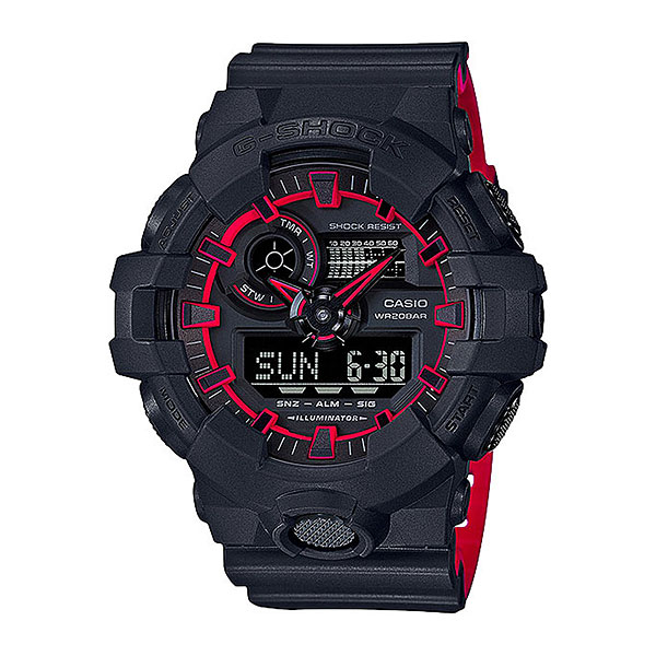 Кварцевые часы Casio G-Shock ga-700se-1a4 casio часы g shock ga 100 1a4
