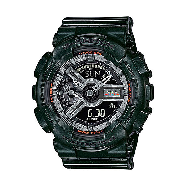 Кварцевые часы Casio G-Shock gma-s110mc-3a часы женские casio g shock gma s110mp 4a3 pink