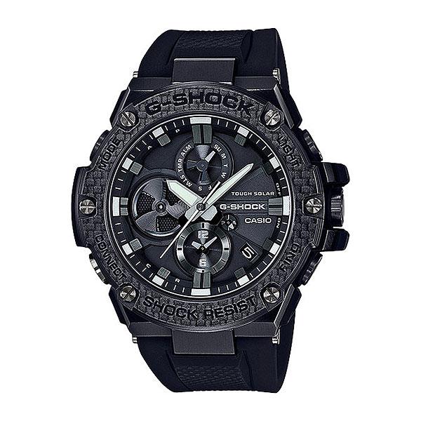 Кварцевые часы Casio G-Shock gst-b100x-1aЧасы, которые просто незаменимы в современном мире. Возможность подключения к смартфону и другим устройствам с помощью Bluetooth®, солнечная батарейка, а также удобная функция поиска смартфона.Технические характеристики: Bluetooth® V4.0 (Low Energy).Светодиодная подсветка.Ударопрочная конструкция защищает от ударов и вибрации.Устойчивость к воздействию вибрации.Солнечная батарейка.Неоновый дисплей.Функция мирового времени.Двойной дисплей.Дисплей даты и дня недели.Функция секундомера - 24 часа.Таймер - 1/1 сек. - 24 часа.Ежедневный будильник.Технология Smart Access - часы быстро и интуитивно просто настраиваются с помощью электронного штифта.Функция поиска телефона.Автоматический календарь.12/24-часовое отображение времени.Сапфировое стекло.Корпус из нержавеющей стали и полимерного пластика.Ремешок из полимерного материала.<br><br>Цвет: черный<br>Тип: Кварцевые часы<br>Возраст: Взрослый<br>Пол: Мужской