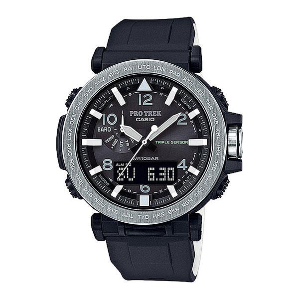 Кварцевые часы Casio Sport prg-650-1eМультифункциональные наручные часы, которые отличаются не только стильным и сдержанным дизайном, но и достаточно широким набором опций. Часы, созданные для работы, путешествий и активного отдыха.Технические характеристики: Двойная светодиодная подсветка.Устойчивый к низким температурам (-10 °C).Солнечная батарейка.Неоновый дисплей.Барометр (260 / 1.100 гПа).Термометр (-10°C / +60°C).Память данных высотометра.Цифровой компас.Высотометр 10,000 м.График набора высоты.Функция мирового времени.Функция секундомера- 1/100 сек. - 24 часа.Таймер - 1/1 сек. - 1 час.5 ежедневных будильников.Включение/выключение звука кнопок.Автоматическая ручная настройка.Функция перемещения стрелок.Технология Smart Access - часы быстро и интуитивно просто настраиваются с помощью электронного штифта.Автоматический календарь.12/24-часовое отображение времени.Минеральное стекло.Корпус из полимерного пластика.Ремешок из полимерного материала.Индикатор уровня заряда батарейки.<br><br>Цвет: черный<br>Тип: Кварцевые часы<br>Возраст: Взрослый<br>Пол: Мужской
