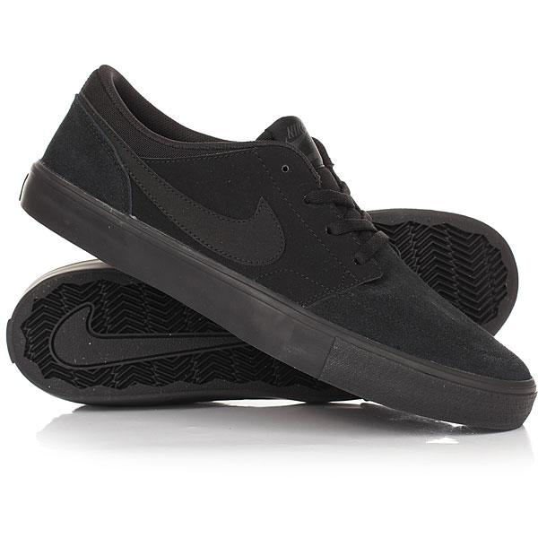 Кеды кроссовки низкие Nike SB Portmore II Solar Black/Noir