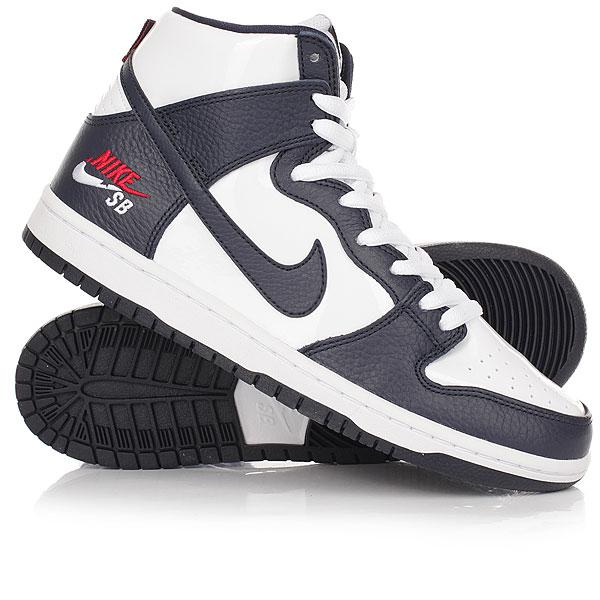 Кеды кроссовки высокие Nike SB Zoom Dunk High Pro Obsidian/WhiteЛегендарная модельNike SB Dunk Hi Pro Bota в зимнем непринужденном исполнении. Низкий профиль, улучшенная амортизация Zoom Air и подметки с цепким протектором для оптимального контроля доски. Внутренняя подкладка из шерсти для дополнительного утепления. Характеристики:Коллекция Nike SB для скейтбординга.Верх: сочетание кожи и синтетического материала. Амортизация за счет вставки в стельке Zoom Air. Внутренний слой из натуральной шерсти. Плотная шнуровка с кольцами. Гибкая полностью прошитаяподошва cupsole. Логотипы Nike SB.<br><br>Цвет: белый,Темно-синий<br>Тип: Кеды высокие<br>Возраст: Взрослый<br>Пол: Мужской