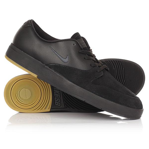 Кеды кроссовки низкие Nike SB Zoom P-Rod X Black nike sb кеды nike sb zoom stefan janoski leather черный антрацитовый черный 12