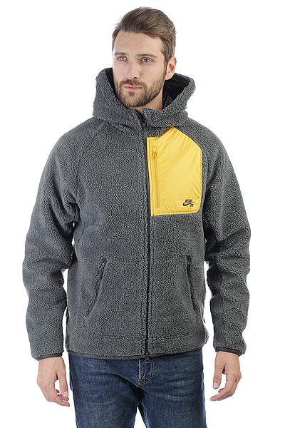 Толстовка классическая Nike SB Everett Grey nike sb рюкзак nike sb courthouse черный черный белый