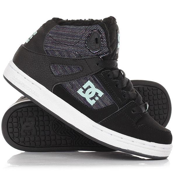 Кеды кроссовки зимние детские DC Rebound Wnt Multi dc shoes кеды dc heathrow se 11