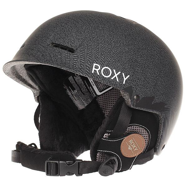 Шлем для сноуборда женский Roxy Avery Black FloralЛегкость и простота конструкции - вот основные преимущества этого женского шлема. А еще, конечно же, привлекательный внешний вид, ведь это Roxy, а они не позволят себе сделать посредственность. Прочный литой пластик и пенный полимер защитят Вас от ударов, а накладки из флиса шерпа и мягкий флисовый внутренник добавят комфорта и уюта. Удобный подбородочный ремень и застежка, пассивная вентиляция - он хорош и удобен, так что осталось только одно - дождаться зимы. Характеристики:Основной материал: двойной микрошелл сверхлегкой литой конструкции. Пассивная вентиляция спереди и сзади. Ударопоглощающий пенный полимер EPS. Подкладка из сетки и флиса. Мягкие термоформованные съемные накладки на уши из флиса шерпа. Стреп на подбородок выполнен из мягкой шерпы. Спецификация: EN1077. Вес: 350 г.<br><br>Цвет: черный<br>Тип: Шлем для сноуборда<br>Возраст: Взрослый<br>Пол: Женский