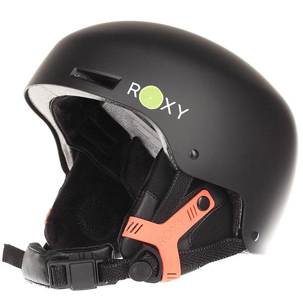 Шлем для сноуборда женский Roxy Muse Lemon TonicПростой и удобный, этот женский шлем от Roxy станет Вашим надежным другом на протяжении каждого дня, проведенного на склоне. Удобная классическая посадка, пассивная вентиляция, съемные наушники с мягким флисом, подбородочный ремень с мягкой подкладкой и магнитной застежкой Fidlock®, которую легко можно застегнуть одной рукой. Он отлично защищает и эффектно смотрится, а также обладает отличным соотношением цены и качества. Характеристики:Женский шлем КонструкцияABS-shell: конструкция состоит из двух частей с верхним слоем из прочного литого ABS-пластика и пеной EPS. Пассивная вентиляция. Подкладка и съемные наушники из мягкого флиса.Съемная клипса для маски. Стандартная посадка. Подбородочный ремень с застежкой Fidlock®.Фирменный логотип на фронтальной стороне. Вес: 550 г.<br><br>Цвет: черный<br>Тип: Шлем для сноуборда<br>Возраст: Взрослый<br>Пол: Женский