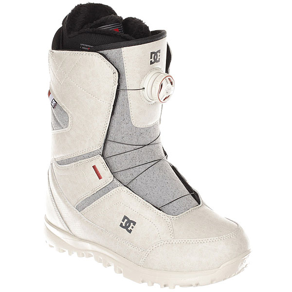Ботинки для сноуборда женские DC Search Boax Silver женские комбинезоны для сноуборда